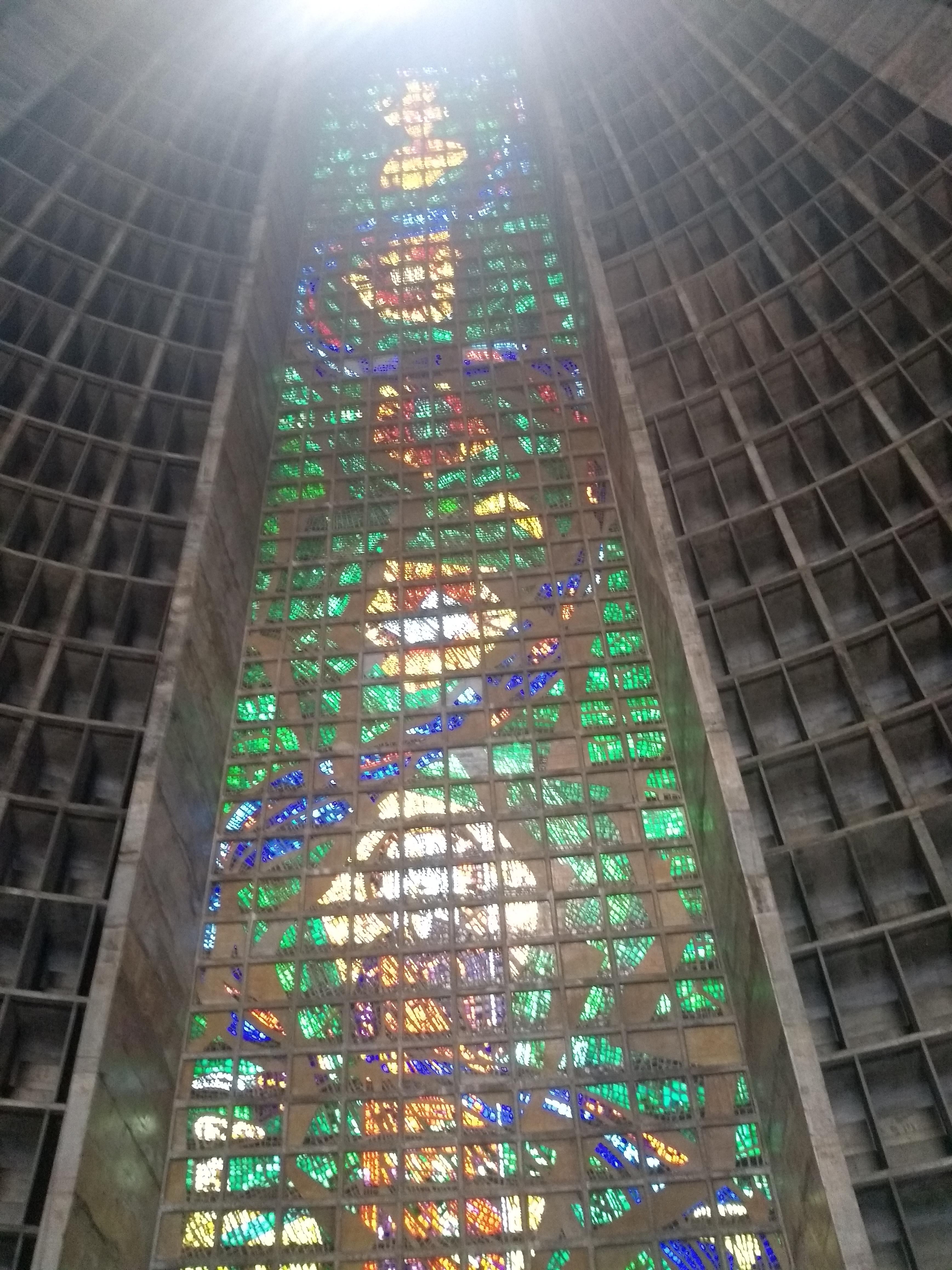 Mosaico Catedral Metropolitana Rio de Janeiro