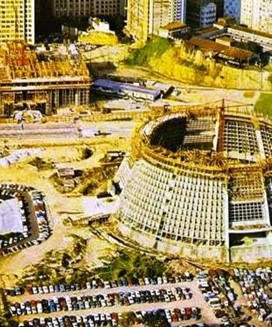Construção da Catedral Metropolitana Rio de Janeiro
